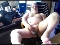 cum nonno in webcam