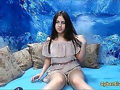 Real adolescente First Time Solo na Webcam ao vivo
