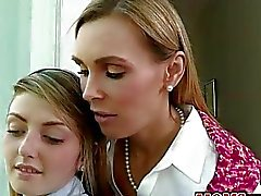 Tanya Tate and Staci Silverstone 3some