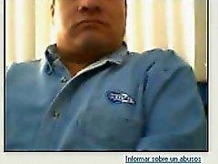 Rak killar fötter på webbkameran som finns # 478