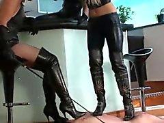 3 Mistresses Vs 1 Slave