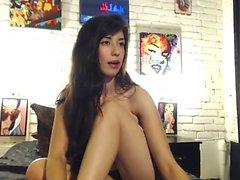 Preciosa Webcam Maduras Brunette En