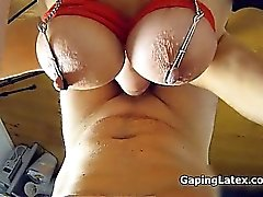 Busty crazy slut gets horny sucking part6