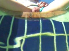 Caldo subacquea Pool scopata