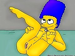 Griffins and Simpsons hentai porn parody