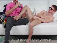 GayCastings - Cornea Agente scopa Archer Hart