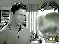 Chad Everett shirtless on vintage TV show