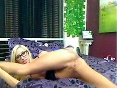ExxxtraSmall Small Frame blonde teen takes it roug