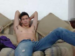Sexy Young Latino Boy On Webcam