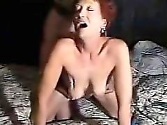 Red Haired Granny Being Fucked Hard