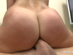Big ass hottie riding cock in a cowgirl.mp4