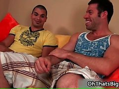 Danny Lopez gets hard stiff gay cock part3