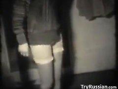 E nero Amatore bianco in russo Porno