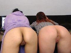 Lesbiche rossa e bruna