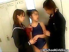 Colegiais japonesas extremamente quentes