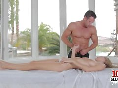Big tits pornstar hardcore with massage