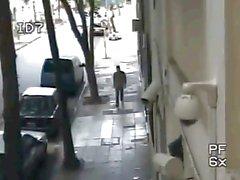 Argentinische Kerl Ruck auf die Straße