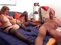 Mollig Deutsch Amateur Swingern