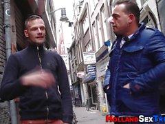 Dutch hooker gives tug