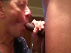 Big Black Cock Cums All Over the Face of Porn Slut Neal Blosmen