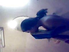 Intelligente Northindian Nude Girl Afficher le infront elle FB