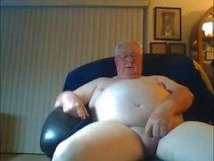 nonno cum sulla webcam