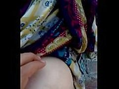 Pakistani Islamabad Wife Big Boobs Pressed and Pussy Show On Independence D