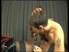 Mireya and Flavia getting sucked