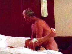Tang Li visita mi habitación de hotel en Dazhou por placer