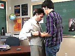 Gay XXX Sometimes this kinky teacher takes advantage of his