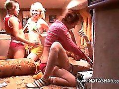 Fantasies Girly de autobus spécial pornographique