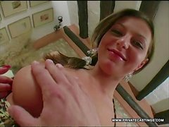 Loves Perky Tits Bounce in Her Casting