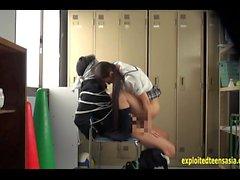 Jav Idol Schoolgirl Fucks Bound Guy With Big Cock