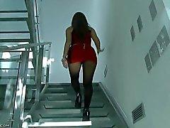 Azeri menina Fundição Video (Elnara)