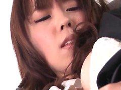 Chinatsu Kurusu går vild på kuk under arbetstid