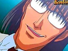 Hentai babe banging hard
