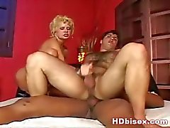 Two hory bi en cumming on big tit babe
