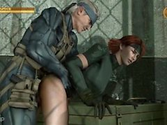 Metal Gear Solid Meryl Silverburgh SFM Compilation