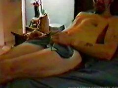 Старые Дилетант Ковбой мастурбация