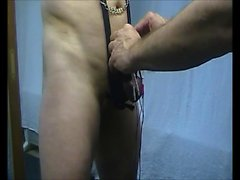 Straight amateur ass takes gay cock