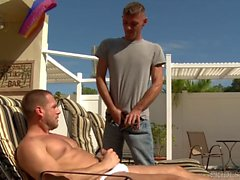 ExtraBigDicks Huge Cock Sucked Poolside