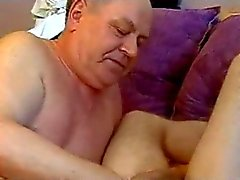 Grandpa seduces Boy