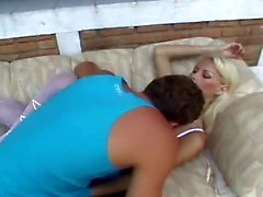 awesome blonde shemale fuck guy