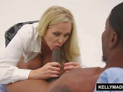 KELLY madison Isiah Maxwell Pounds Big Tit MILF's Pussy