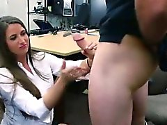 Hidden camera pawn shop hot sex