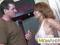 MILF MOM Sienna West facial