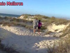 PUBLIC BLOWJOB ON THE BEACH OF PORTUGAL - Sunporno Uncensored