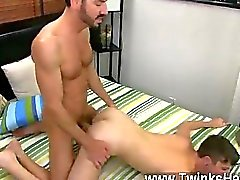 Hot twink scene Although muscle daddy Bryan
