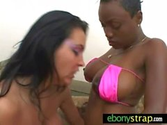 Interracial strapon domination lesbians 9