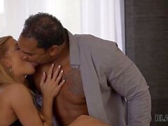 BLACK4K. Girlfriend cant wait for her man to shove his BBC inside her